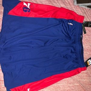 Official NBA 76ers practice shorts